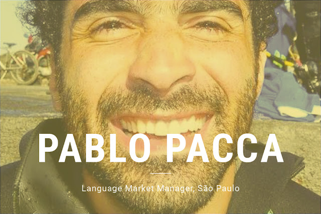 Pablo Pacca, Language Market Manager, São Paulo
