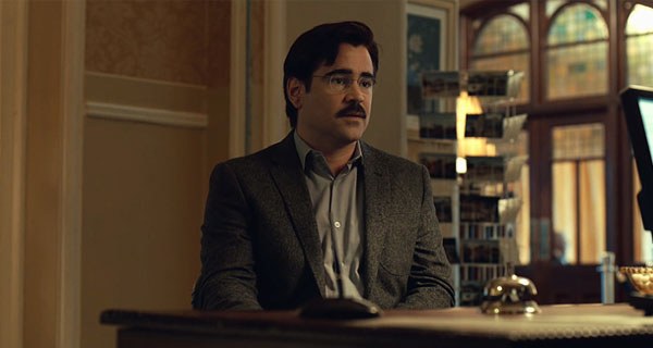 Colin Farrell en The Lobster