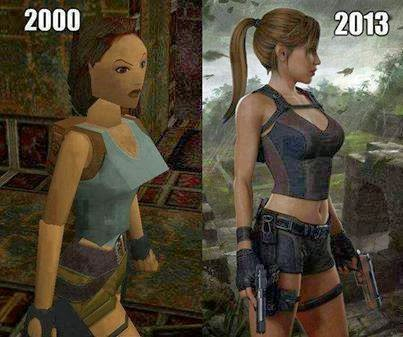A 13 Year Difference In Computer Graphics