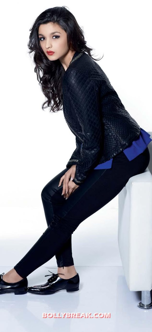 Alia Bhatt Cosmopolitan Magazine - Alia Bhatt on Cosmopolitan Magazine November 2012
