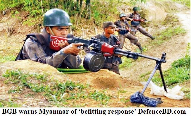 BGB warns Myanmar