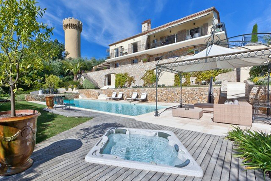 Cote D 39 Azur Villa Rentals Cannes Villa Soubran South Of France