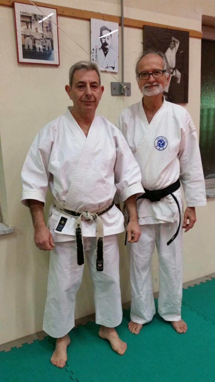Cintura nera karate!