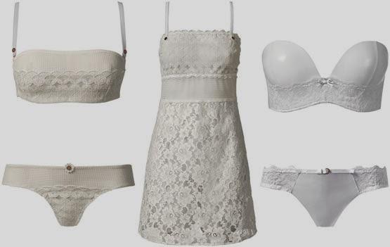 Intimissimi lencería blanca primavera verano 2014