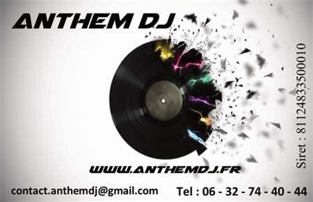 Celebre Anthem Dj Carte De Visite YC71