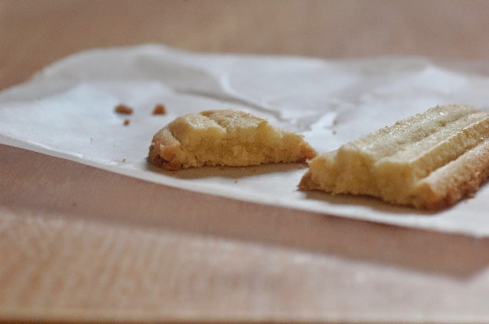 עוגיות חמאה מלוחה ווניל