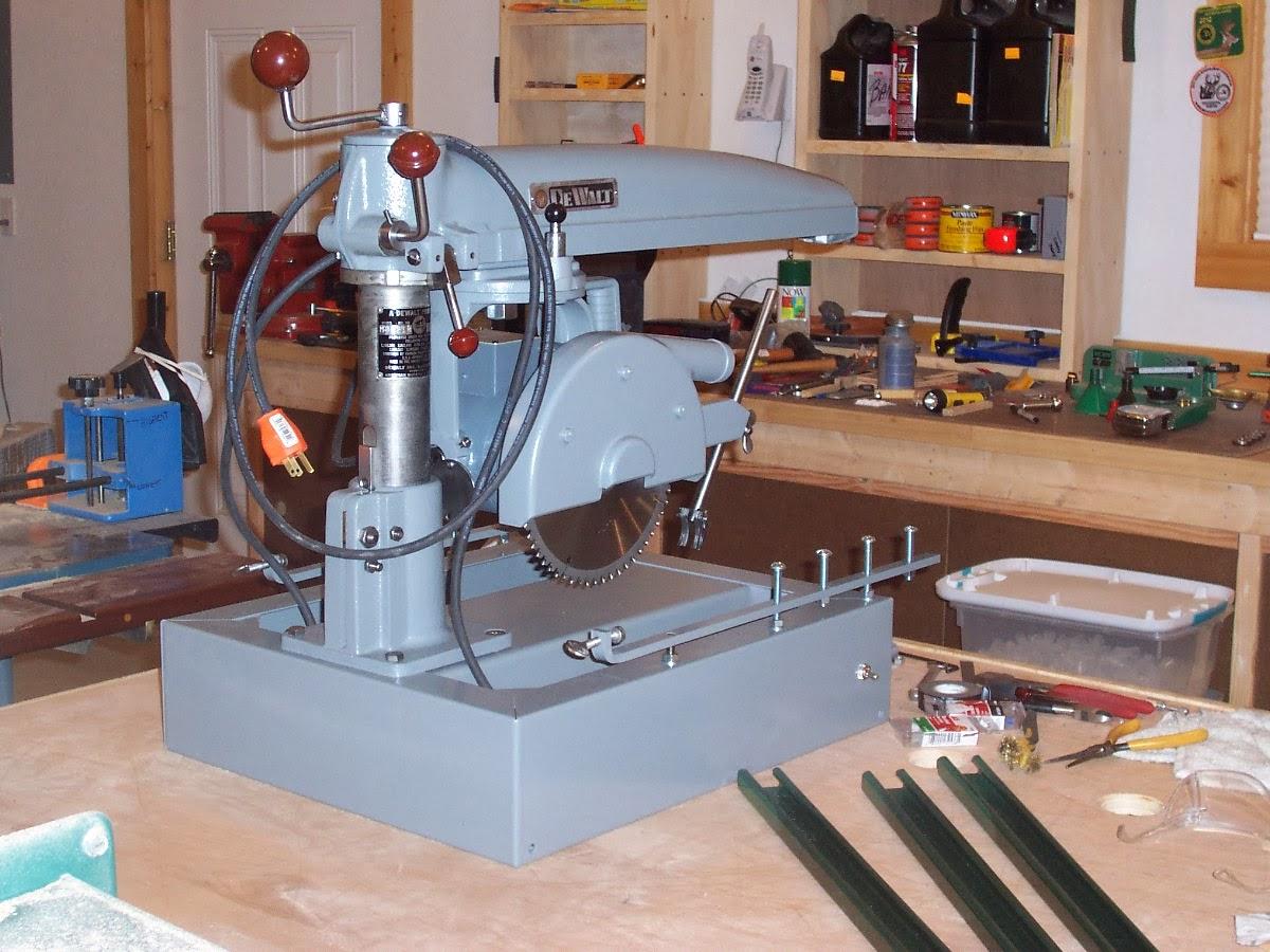 Dewalt mbf radial arm saw restoration step by