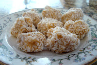 Coconut Peanut Butter Balls Quick Recipe | Healthy Coconut Recipe