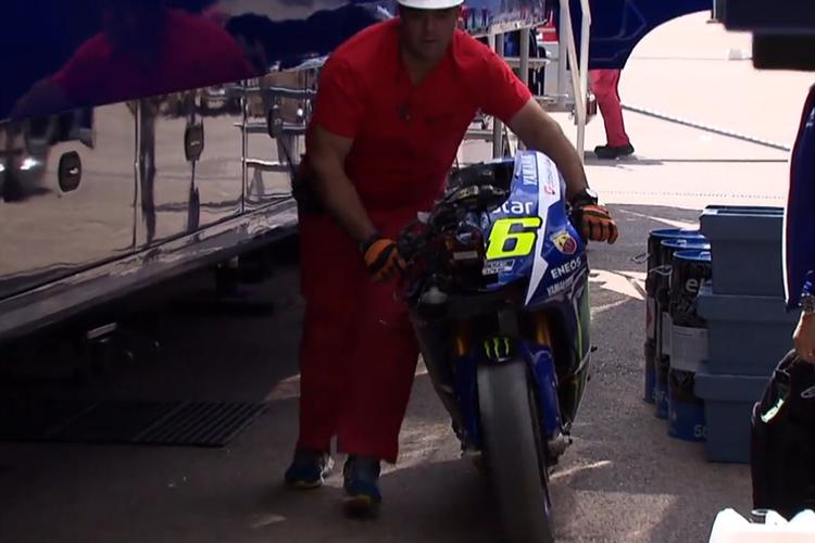 Pihak Michelin Beber Penyebab Rossi Jatuh di Tes Aragon