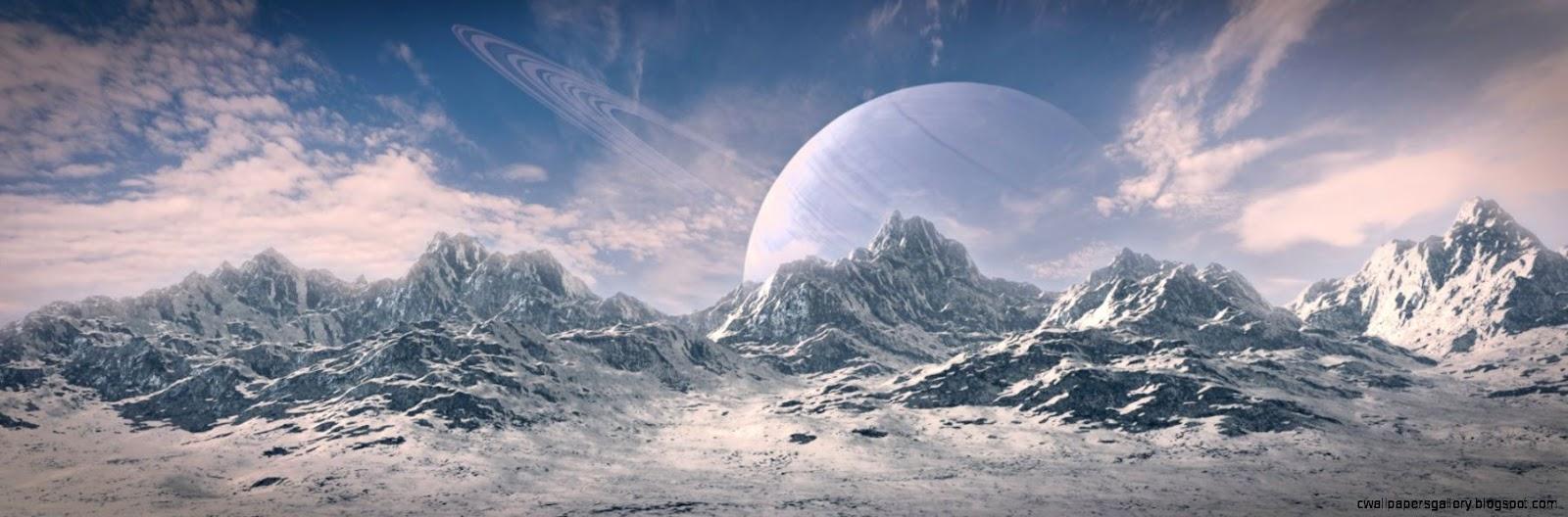 Weekend Contest Winner Alien Landscape   BlenderNation