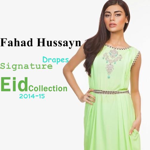 Fahadhussayn Signature Drapes 2014