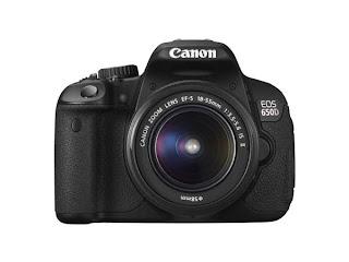 Harga Canon Eos 650D Kamera DSLR Terbaru 2012