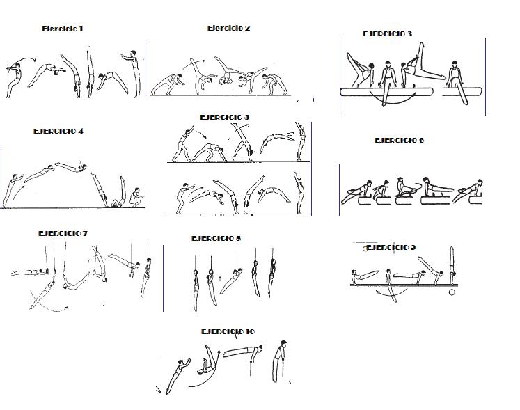 Gimnasia deportiva ejercicios para planificar for Gimnasia gimnasia