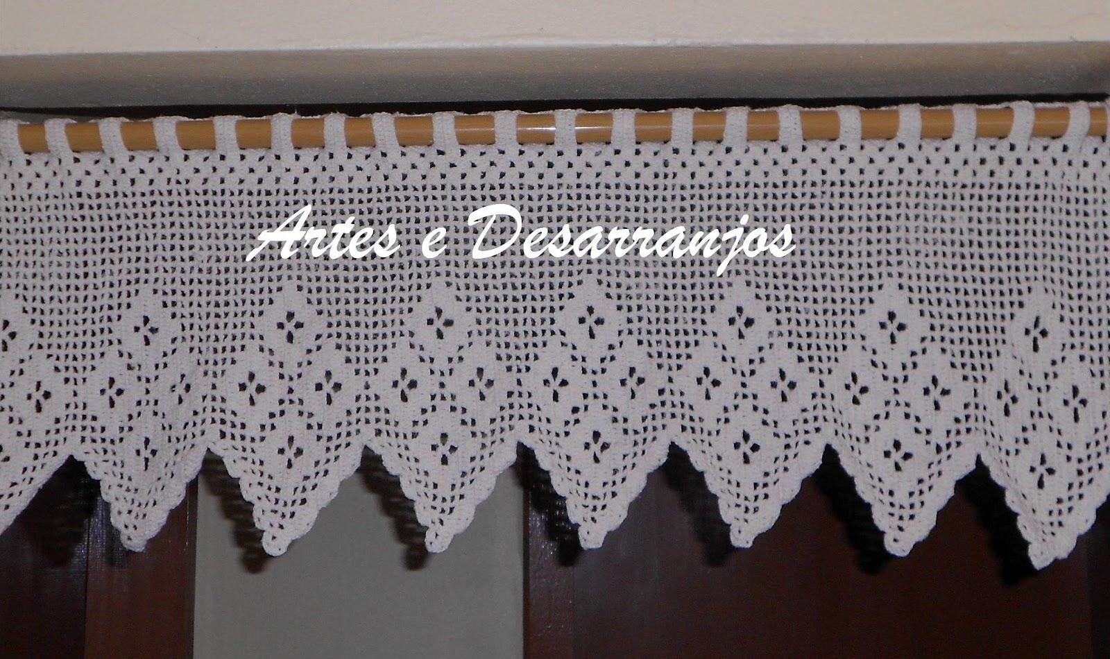 Cortina De Croche Para Cozinha Com Grafico Oppenau Info