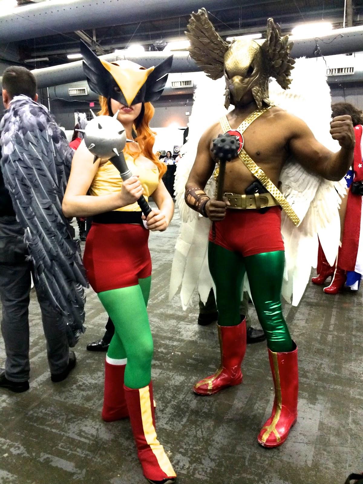 Hawkman Special Edition NYC Hawkwoman