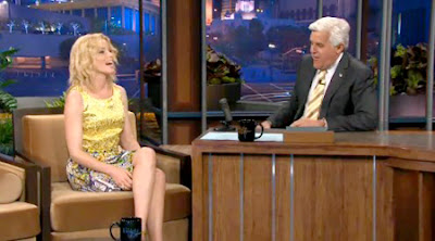 Elizabeth Banks and The Tonight Show and Jay Leno and The Hunger Games and People Like Us