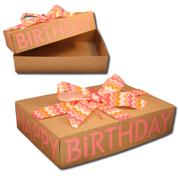 """The Birthday Box staff assembles a """"party in a box"""", including a fresh cake (or cake mix), candles, party utensils and an age appropriate wrapped gift. A few days prior to the child's birthday, a Birthday Box is delivered to the director of the outreach facility and in turn given to the child's family."""