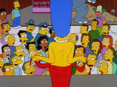 Las Curvas De Marge Large The Simpsons Temporada Capitulo
