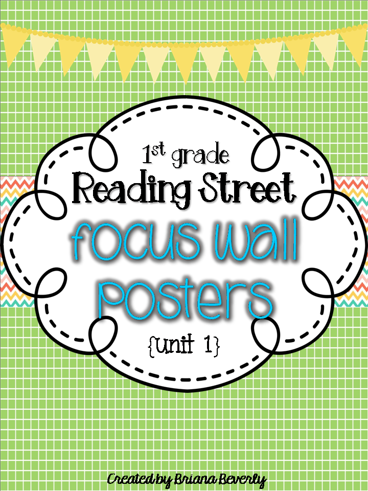 http://www.teacherspayteachers.com/Product/First-Grade-Reading-Street-Focus-Wall-Posters-Unit-1-1357895
