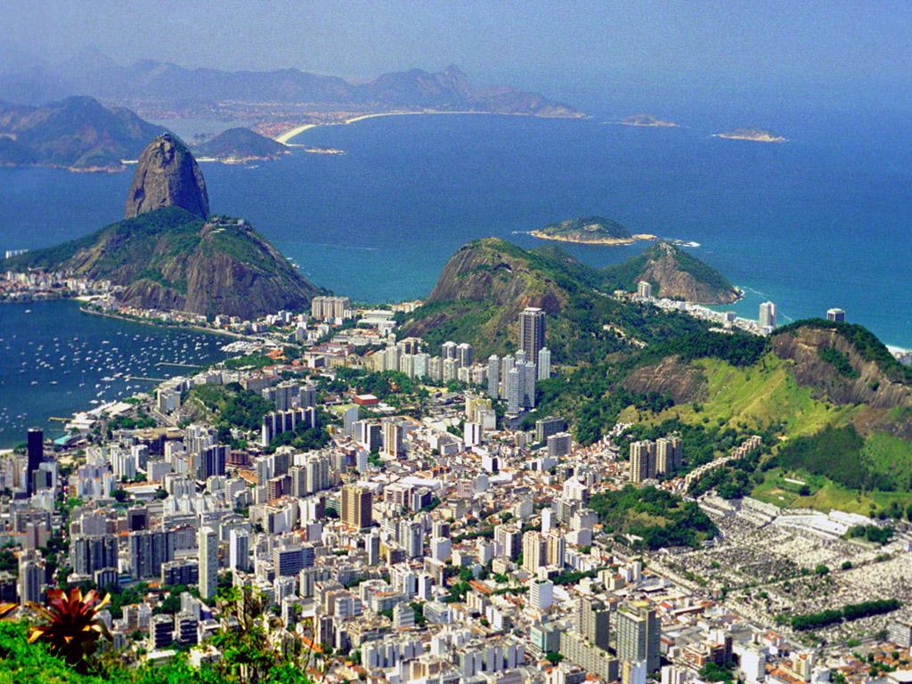 World Visits: Rio de Janeiro Skyline