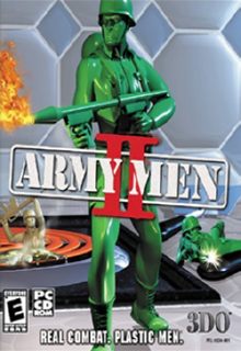 Army Men 2 Cover Art, Free Download