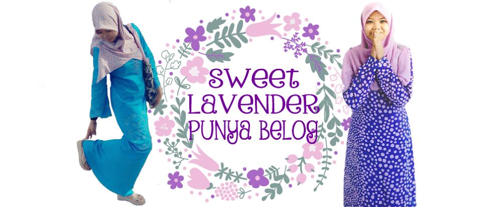 Sweet Lavender Punya Belog !!