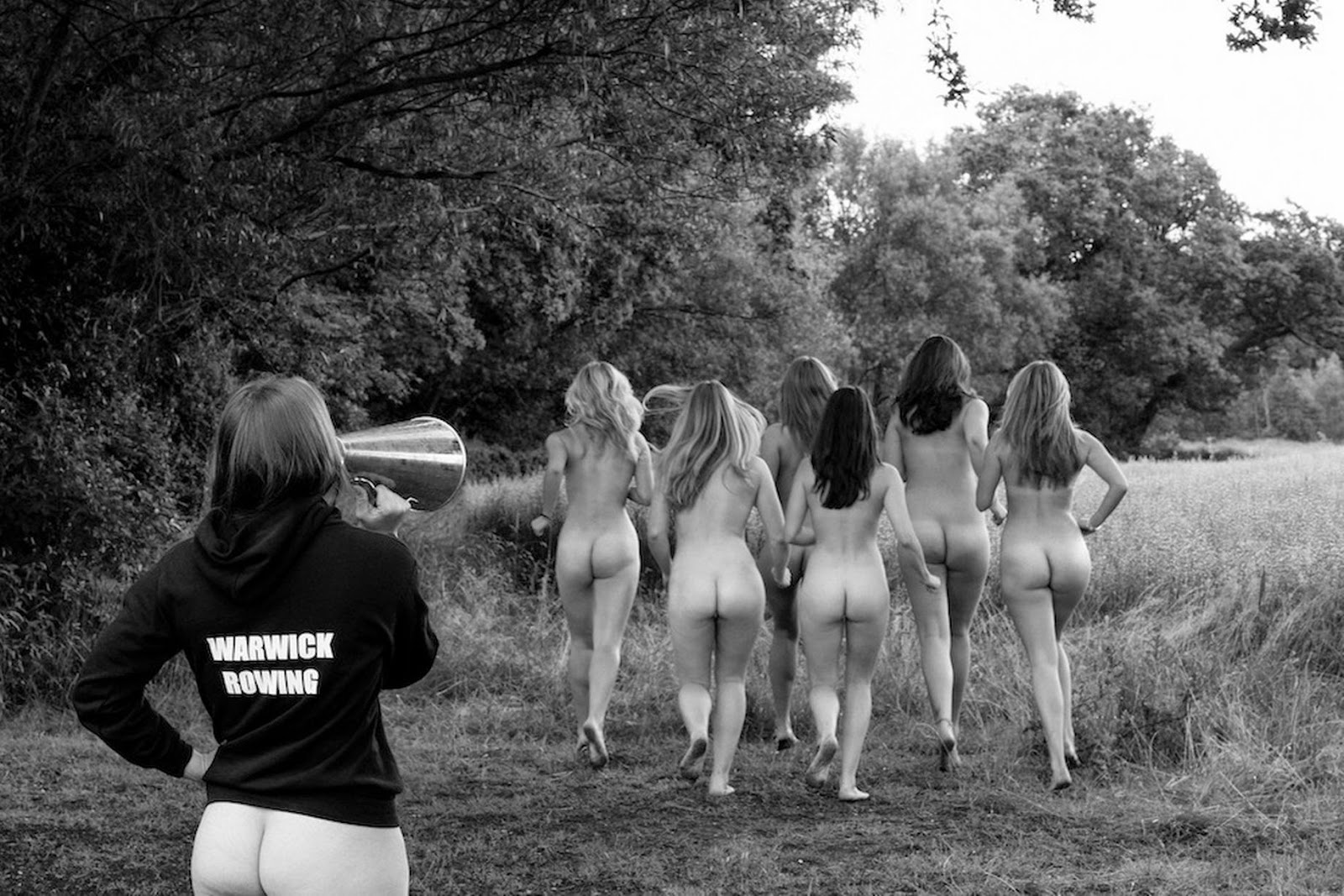 Female University Rowing Club Nude Calendar, University of Warwick female rowing club nude, girls rowing club nude, naked