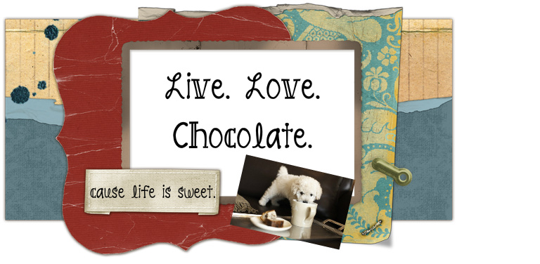 Live. Love. Chocolate.