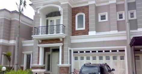 desain rumah klasik modern rumah minimalis