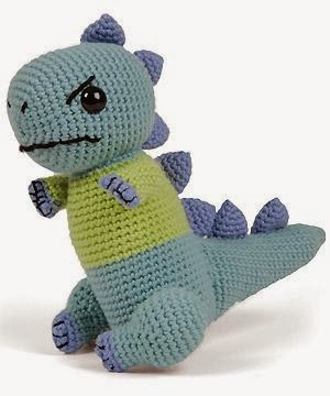 free Amigurumi crochet patterns- dinosaur free crochet pattern