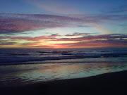 Zuma Beach Sunsets: Watercolor Sunsets