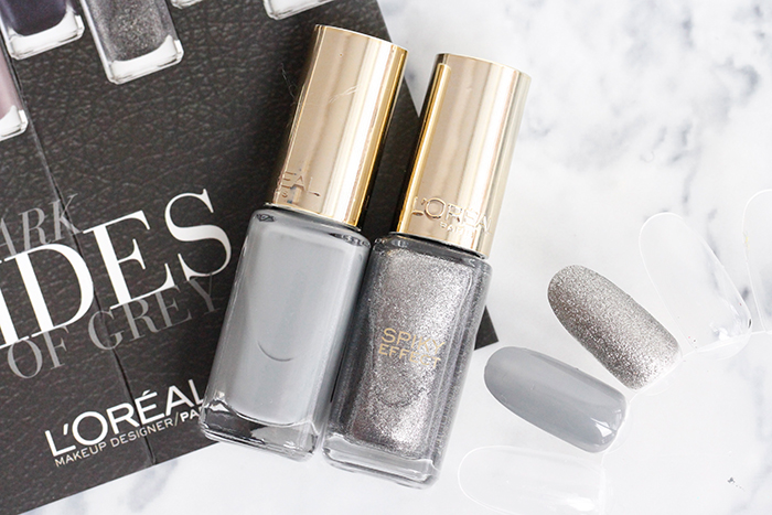 Shades of Grey Nail Polish by L'Oreal