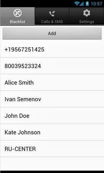 Calls Blacklist_Android free app