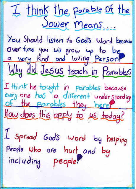 Year 5 Grade 5 Class Activities And News Religion