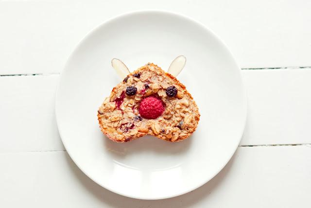 ... food art blog: Frokostbarer med bringebær / Raspberry Breakfast Bars