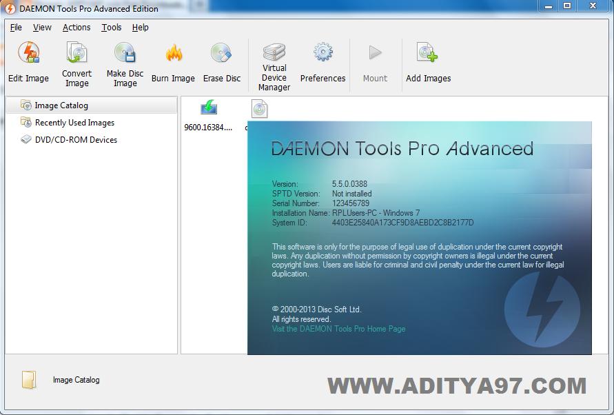 Daemon tools full