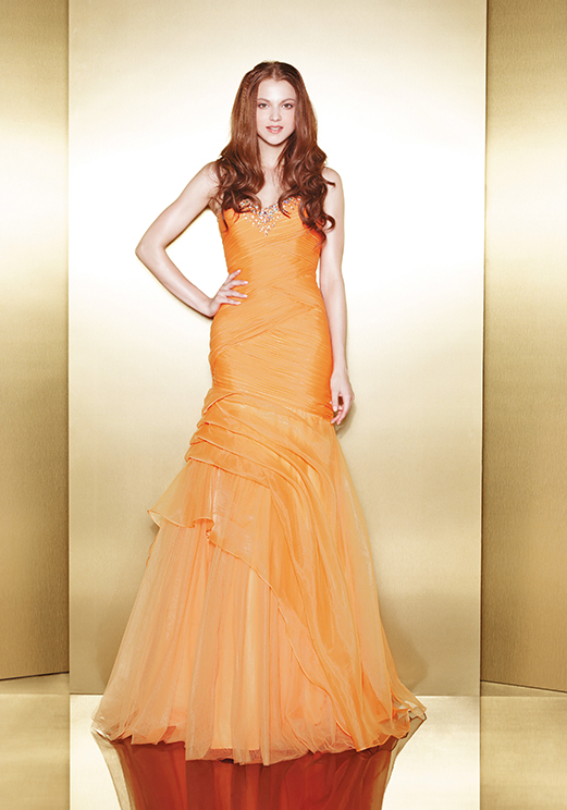 Love 16 Yellow Prom Dresses by Enzoani 2013