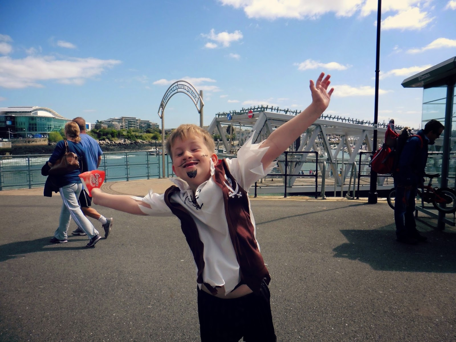 pirate, plymouth, barbican, weekend,