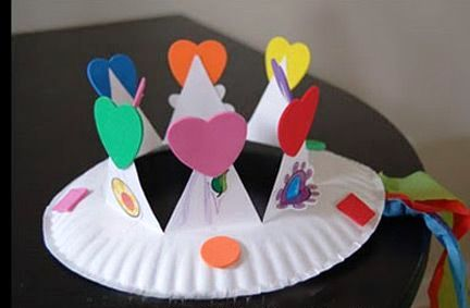 Arts and crafts paper plates origami instructions art for Art and craft with paper easy