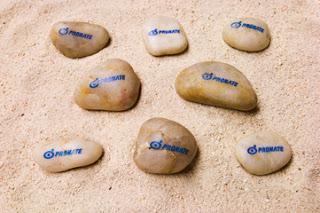 「助太力プリント」であらゆる形の石に印刷した写真