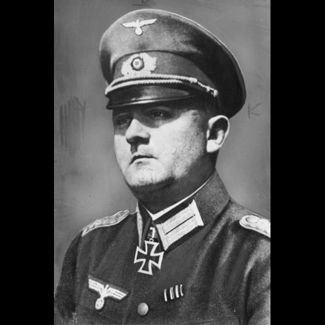 Gjenerali nazist Dietrich Von Choltiz, Lufta e Dytë Botërore