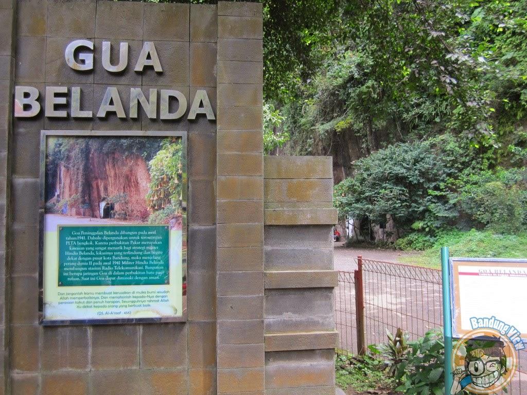 Goa Belanda Taman Hutan Raya Djuanda