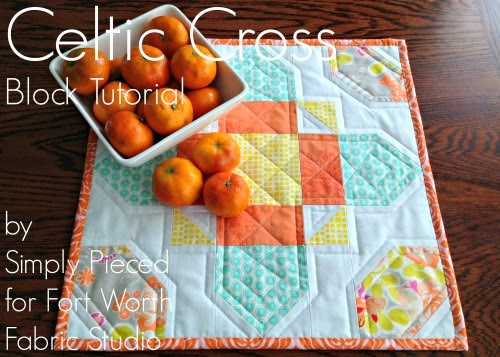 http://fortworthfabricstudio.blogspot.com/2014/05/celtic-cross-block-tutorial.html