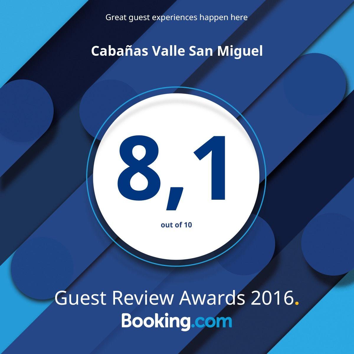 Establecimiento Premiado con el Guest Review Award 2016
