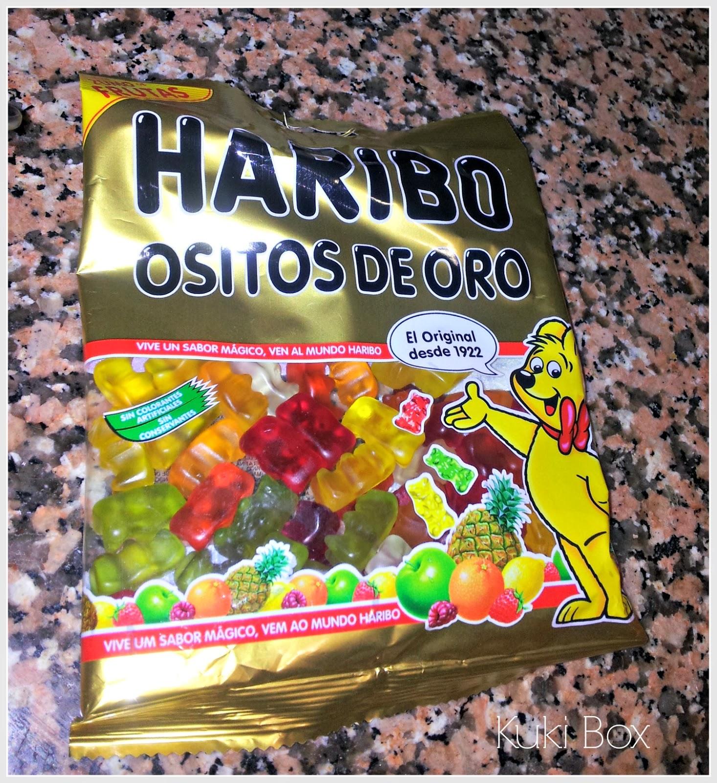 KukiBox - Tarta Gominolas - gominolas Haribo