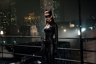 Anne Hathway as Selina Kyle in The Dark Knight Rises, Directed by Christopher Nolan