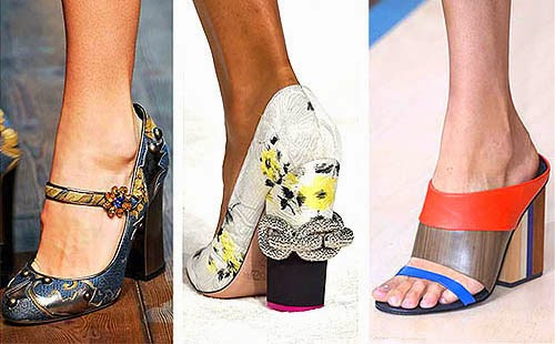 Chunky Heels Trend 2015