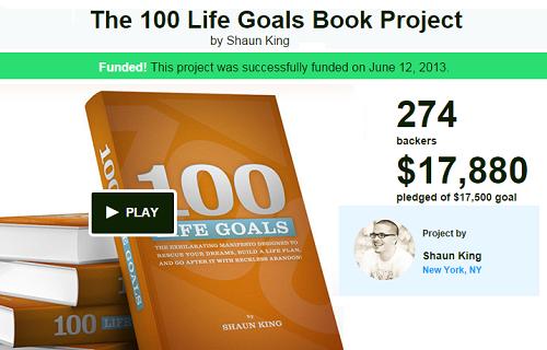 100 Life Goals scam