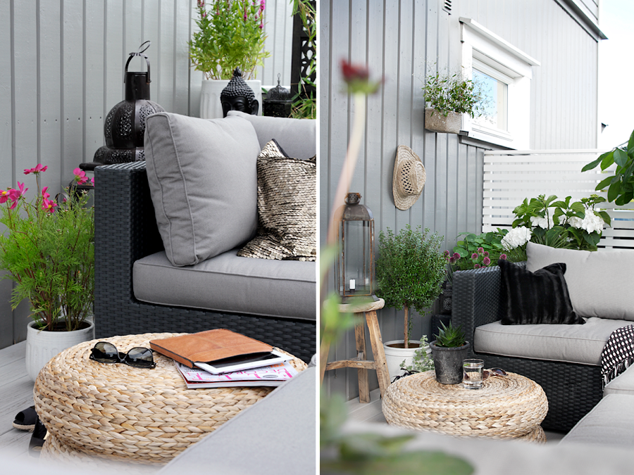 Rattan for Decoracion jardin ikea