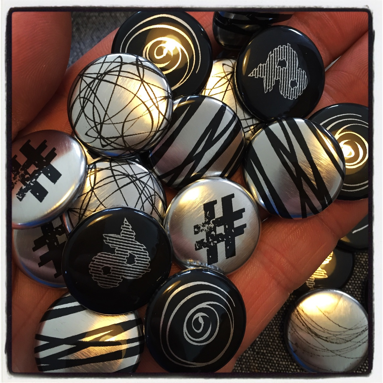 Badges Silver